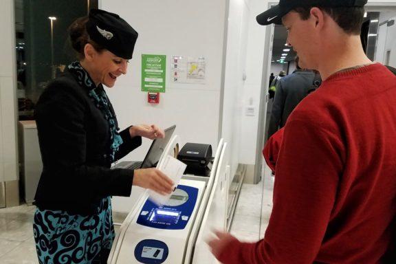 Friendly Air New Zealand