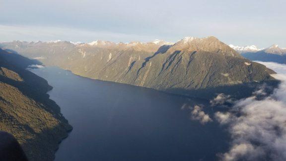 Entering Fiordland National Park