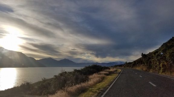 Lake Wakatipu late afternoon